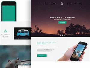 simple website layout psd wwwpixsharkcom images With simple homepage template