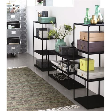 etagere a poser design metal noir house doctor rack model b kdesign