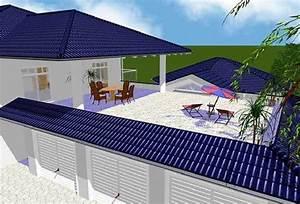 Fertighaus Mit Dachterrasse : fertighaus luxusvilla inklusive drei garagen schwimmbad ~ Lizthompson.info Haus und Dekorationen