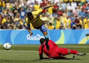 Brazil's mens soccer team earns spot in gold-medal match ...