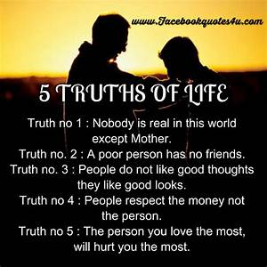 Mesmerizing Quotes: 5 Truth Of Life
