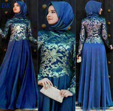baju long dress brukat setelan hijab cantik murah ryn fashion