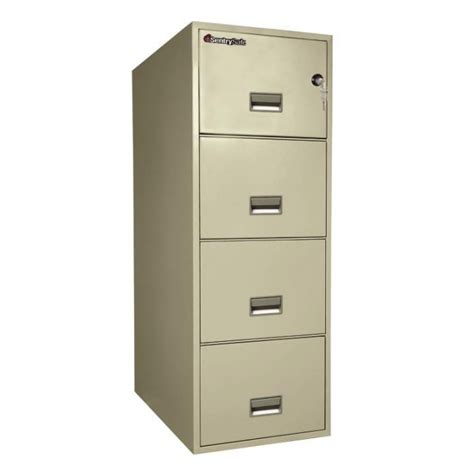 sentry fireproof file cabinet sentry 4g3131 4 drawer file cabinet with fire water