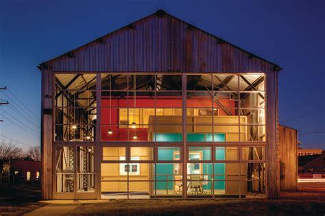 barn raising  leed platinum  history meet