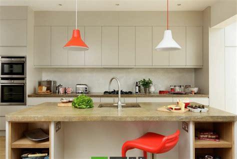 beton ciré cuisine plan travail plan travail beton cire ilot accueil design et mobilier