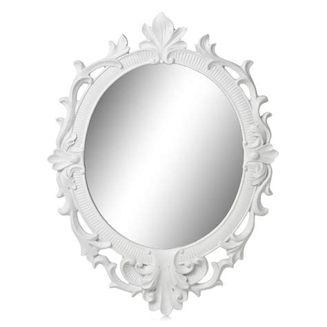White Framed Oval Bathroom Mirror by 25 Collection Of Large Oval Mirrors