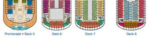 carnival fascination deck plan 2012 vista deck plans changed slightly cruise critic message