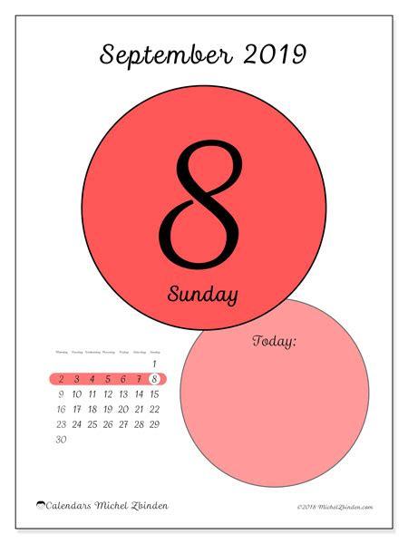 september  calendar  ms michel zbinden en