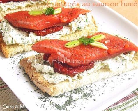 photos canap 233 au saumon fum 233 et mascarpone