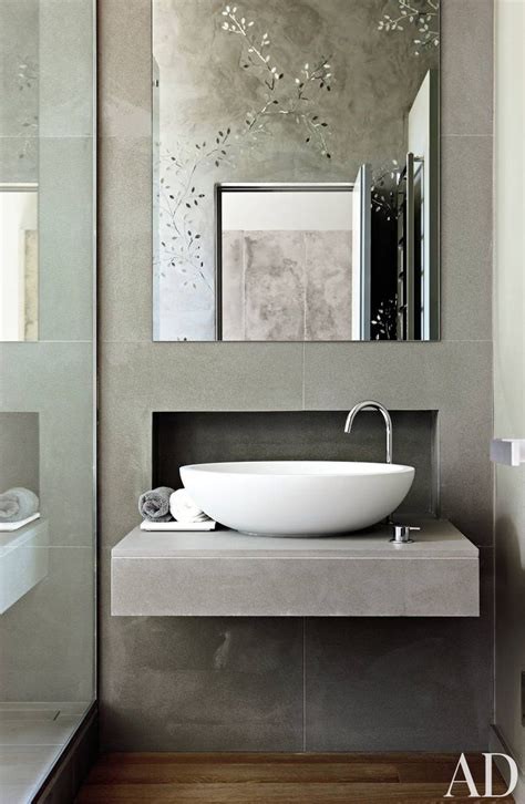 contemporary bathroom by monica mauti ad designfile