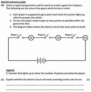 Applying Series  U0026 Parallel Circuit Concepts To A Game