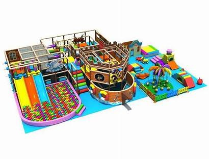 Indoor Play Pirate Themed Structure Playground Amusement