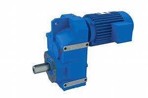 China F Parallel Shaft Helical Gearbox Reducer