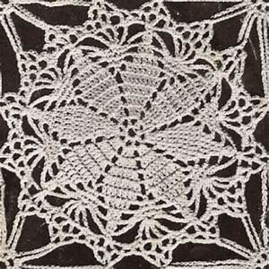 Round Tablecloth Crochet Pattern