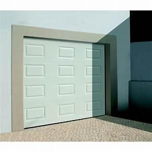 Porte de garage sectionnelle avec brico depot porte d for Porte de garage sectionnelle avec porte d entrée pvc vitrée brico depot