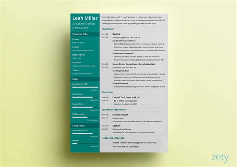 great resume templates  examples