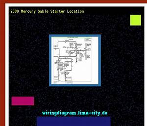 2000 Mercury Sable Starter Location  Wiring Diagram 175913