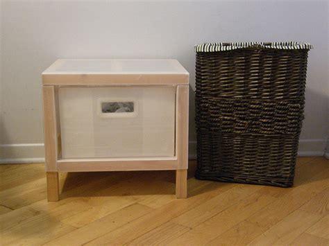 panier 224 linge osier et petit meuble ikea 1 tiroir flickr photo