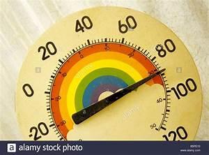 Indicateur De Température : indicateur de temp rature de couleur en degr s fahrenheit et celsius banque d 39 images photo ~ Medecine-chirurgie-esthetiques.com Avis de Voitures