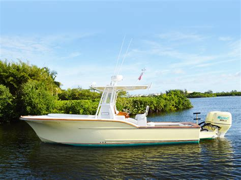 Calyber Boats by 2005 Used Calyber Boatworks 27 Custom Center Console