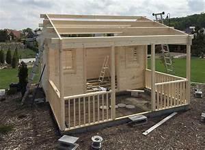 Gartenhaus Dach Abdichten : das dach als highlight ein gartenhaus mit dachpfannen ~ Whattoseeinmadrid.com Haus und Dekorationen