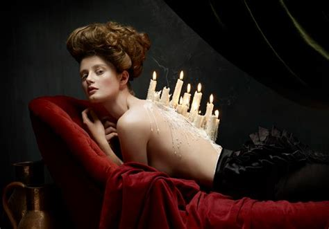 the modern and photography photo series inspired by baroque still paintings designtaxi