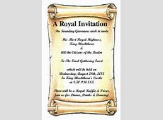 A Royal Invitation! Stratics Community Forums