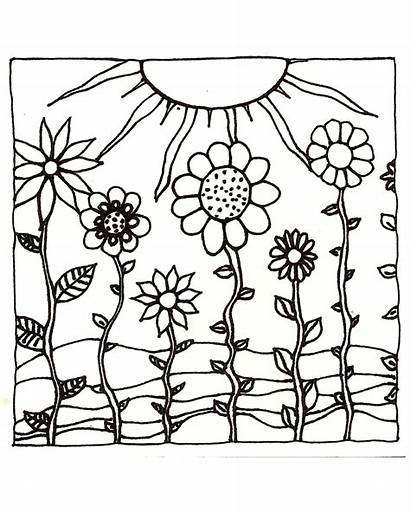 Coloring Pages Sunset Sun Adult Ocean Sunsets
