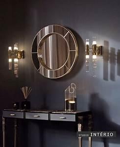Maison, U0026, Objet, Mirror, Grijs, Grey, Dressoir, Spiegel, Luxe, Maisonobjet, Studiointerio, Luxuryinterior