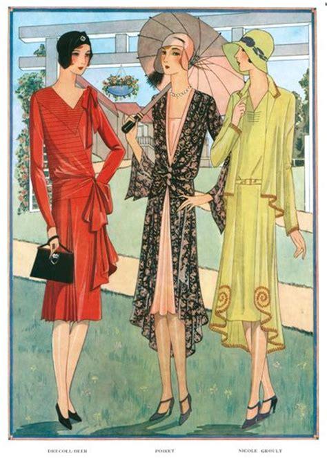 1920s deco fashion jazz age umbrellas 1920s deco