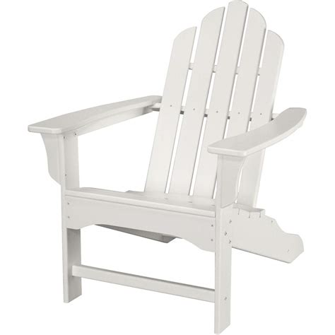 all weather adirondack chair in white hvlna10wh