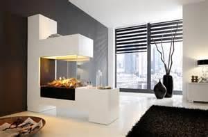 design kamine salon cheminée moderne idées et astuces déco ideeco