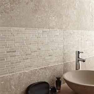 les 25 meilleures idees concernant salle de bain en pierre With cacher carrelage salle de bain