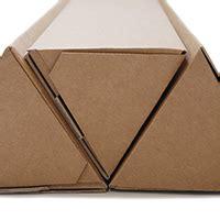 triangular cardboard postal tubes kite packaging