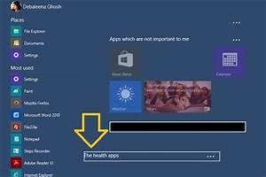 Name Apps Group In Windows 10 Start Menu