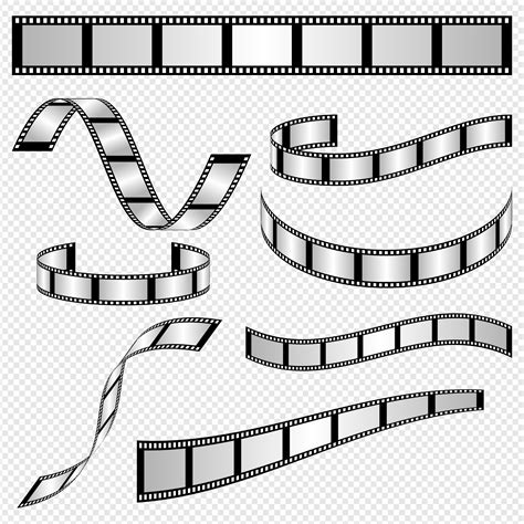 Templates Film by Film Strip Template Vectors Download Free Vector Art