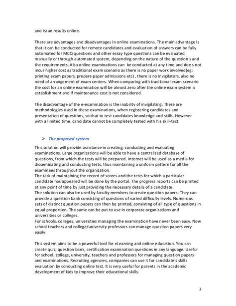 Argumentative Essay About Online Education