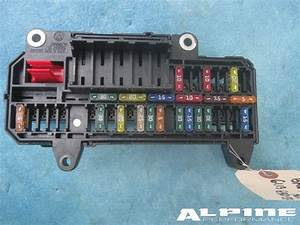 Origianal Bmw Power Distribution Fuse Box Trunk E65 E66
