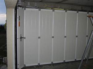 porte de garage coulissante alu isolante maison travaux With porte de garage enroulable avec porte de garage 3 vantaux pvc
