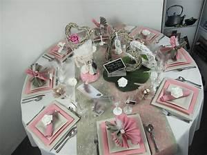 Idee Deco Pour Mariage : d co de table pour un mariage vintage id es deco id f tes ~ Teatrodelosmanantiales.com Idées de Décoration