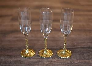 Throw a tree decorating party for Decorate champagne glasses
