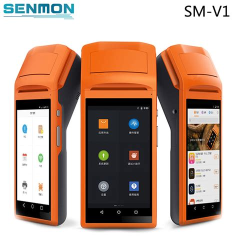 android mobile  barcode scanner thermal printer
