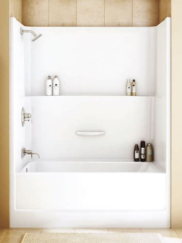 bathroom top  piece shower  bathtub
