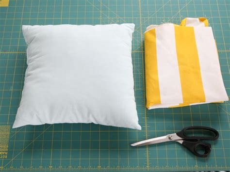 envelope pillow cover diy simple envelope pillow tutorial step by step with