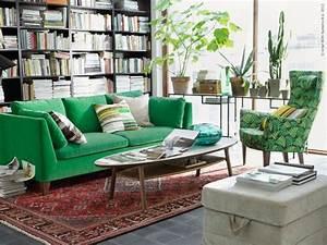 Canapé Vert Ikea : inspiration vert meraude euphrozine ~ Teatrodelosmanantiales.com Idées de Décoration