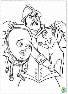 Puss In Boots Coloring Page Dinokidsorg