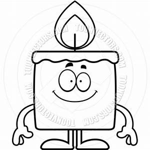 Cartoon Candle Happy (Black | Clipart Panda - Free Clipart ...