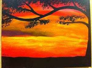 Gallery, For, U0026gt, Easy, Sunset, Paintings