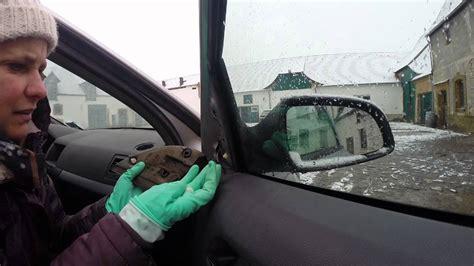 außenspiegel glas wechseln aussenspiegel abbauen opel astra h caravan