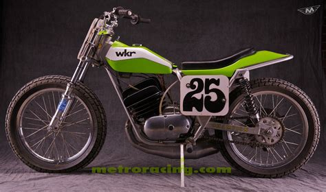 Kawasaki Big Horn Vintage Flat Track Dirt Tracker Ahrma